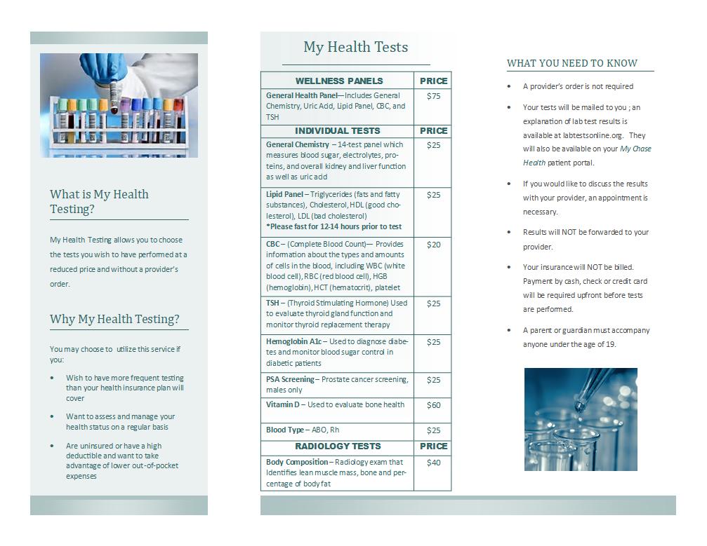 My Health Tuesday - Chase County Community Hospital
